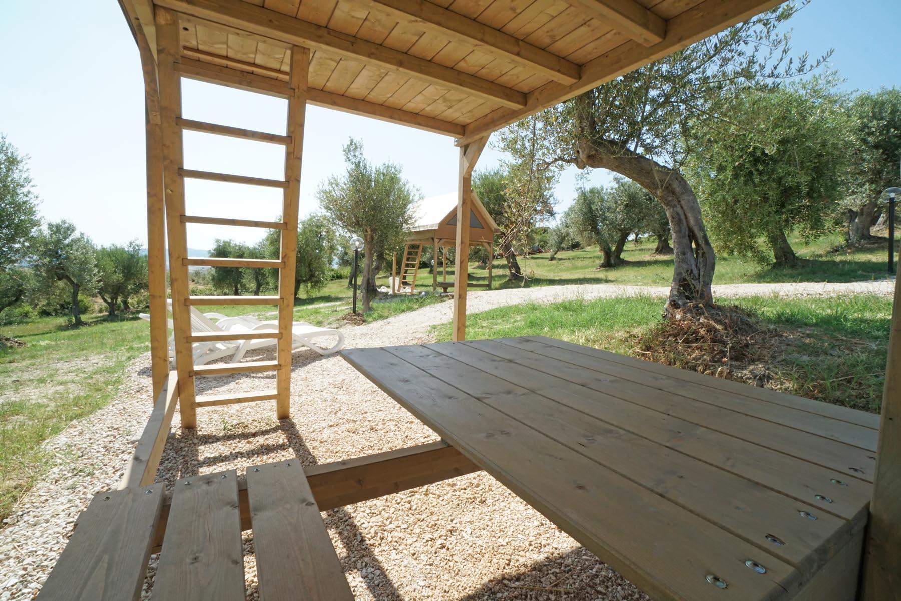Glamping Tuscany - Lodge Rider